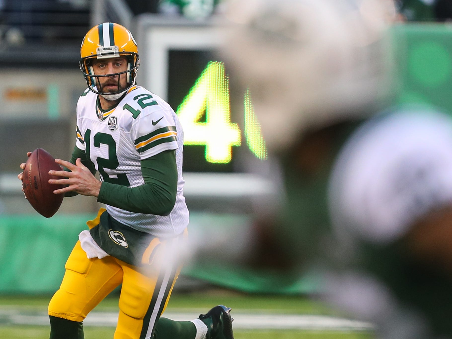 17. Packers (19): Aaron Rodgers has uncharacteristically missed lots of receivers in 2018. But he misses defenders, too. That 25-to-2 TD-INT ratio is crazy.