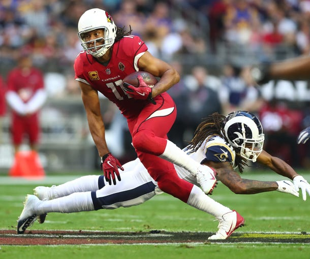 32. Cardinals (last week: 32): Would hate to see Larry Fitzgerald depart after THIS season. But how promising does near-term future in Arizona look for a 35-year-old receiver?