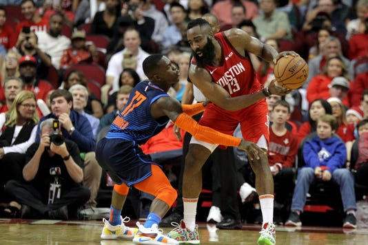 80395c8144b Harden s 41 helps Rockets beat Thunder 113-109