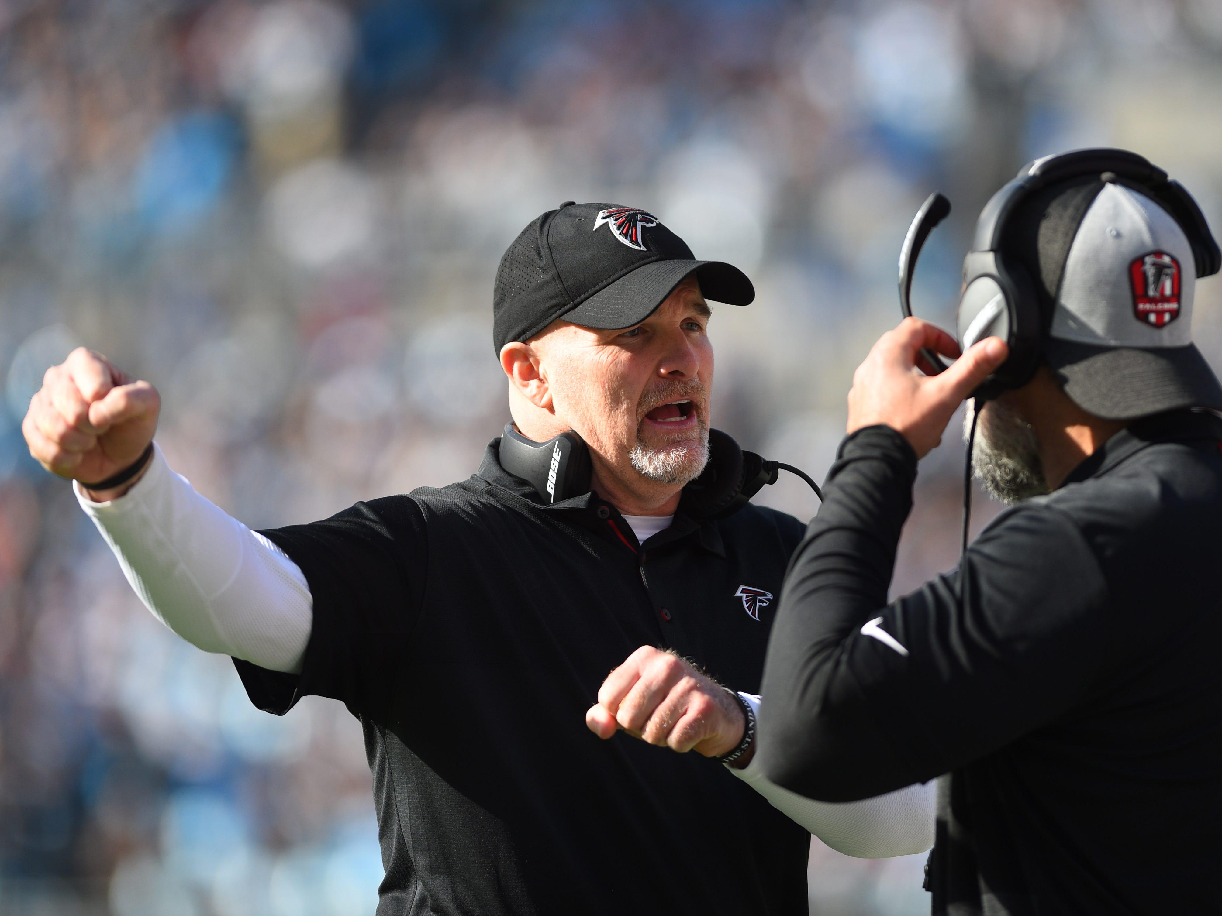 18. Falcons (20): Turnover margin, run defense and pass rush — Dan Quinn pretty much laid highly disappointing season at feet of his battered defense. Maybe play Matt Bosher at linebacker?