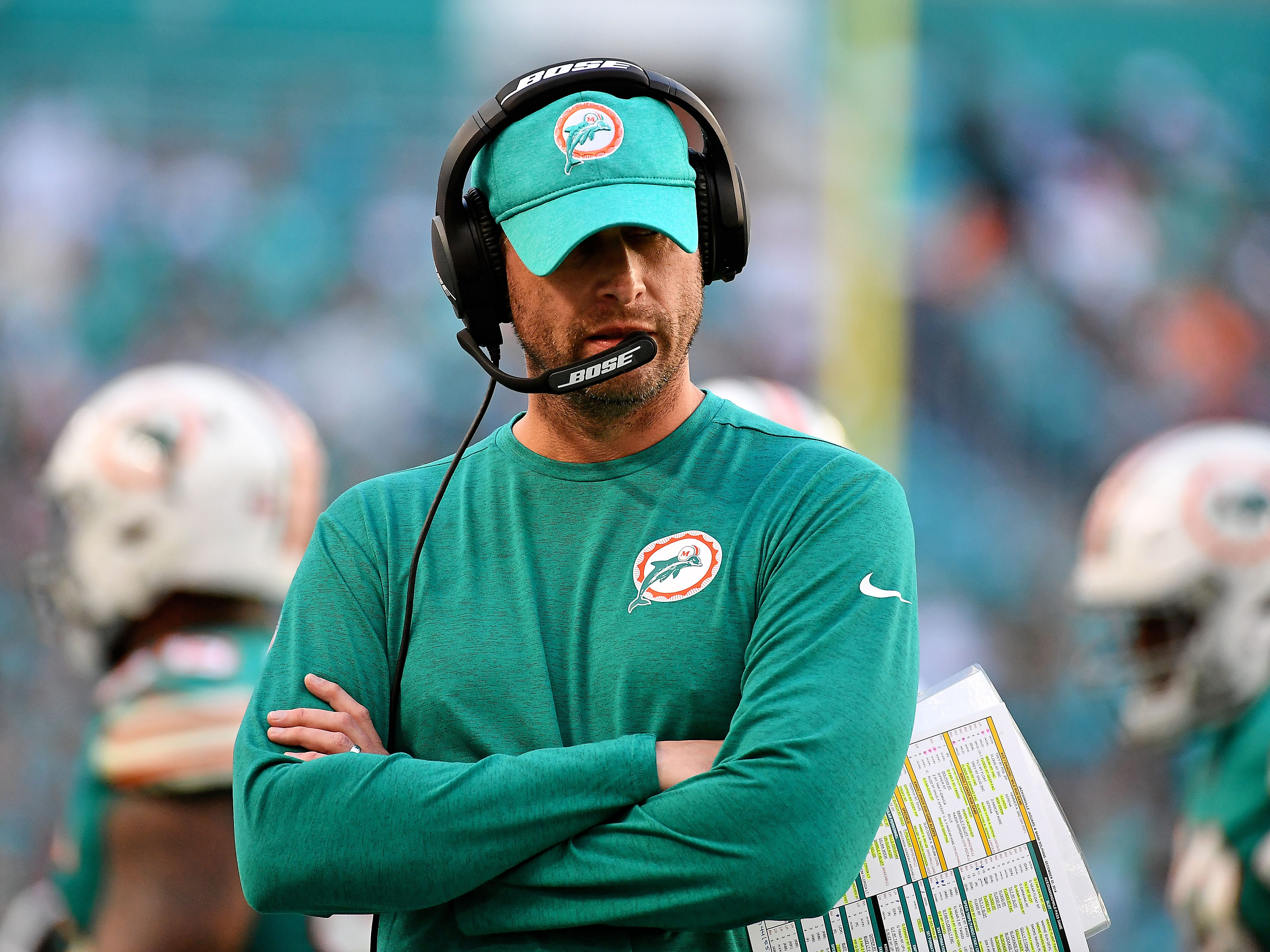 24. Dolphins (17): If you're Adam Gase, would you even want to return to this mess? As Brett Favre once advised, take two weeks off ... then quit (which is pretty much what Miami just did).