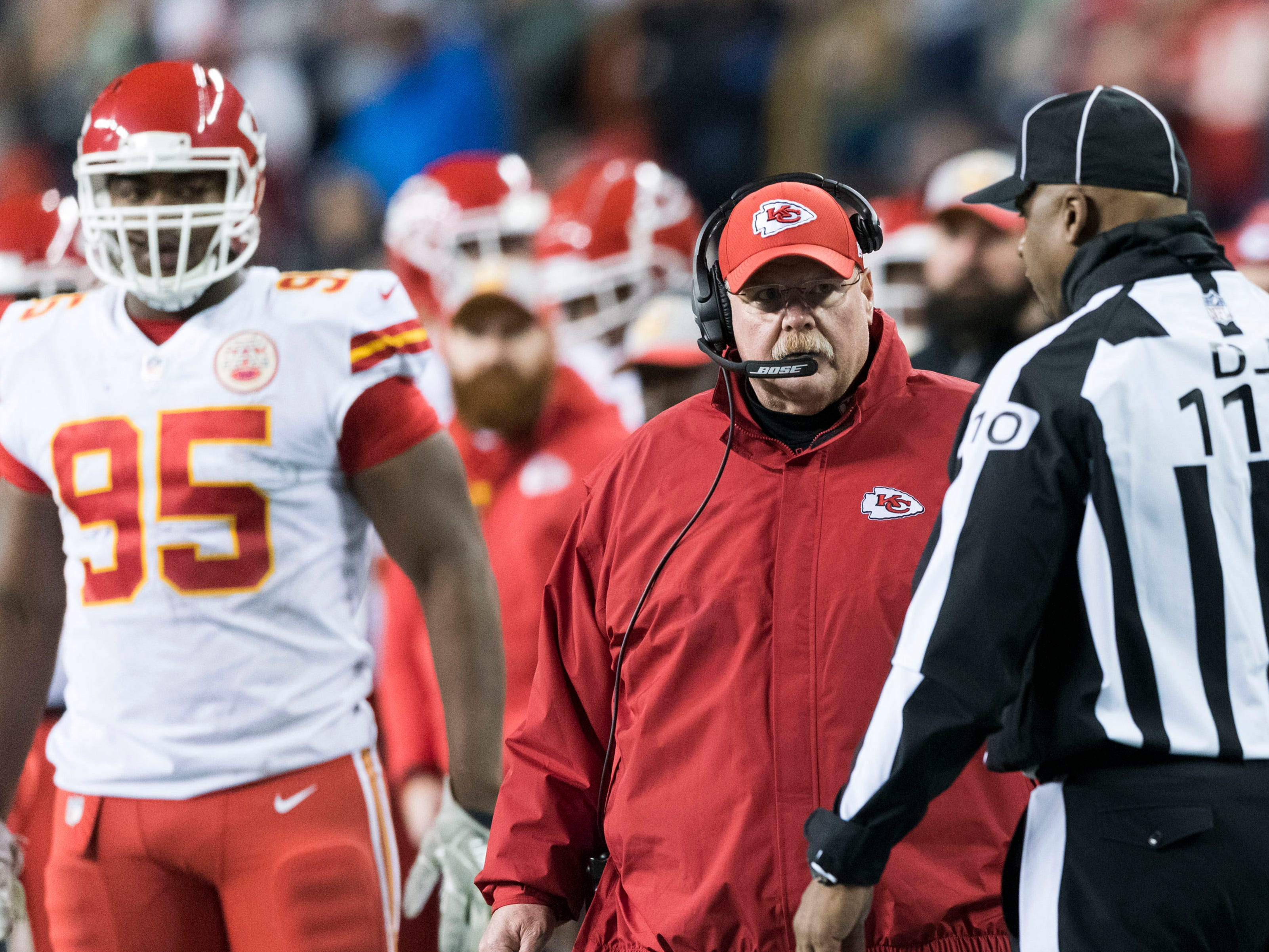 "5. Chiefs (5): Death by paper cut a good approach to beating this ""Madden"" offense. Kansas City has allowed 26.6 first downs per game, worst in league."