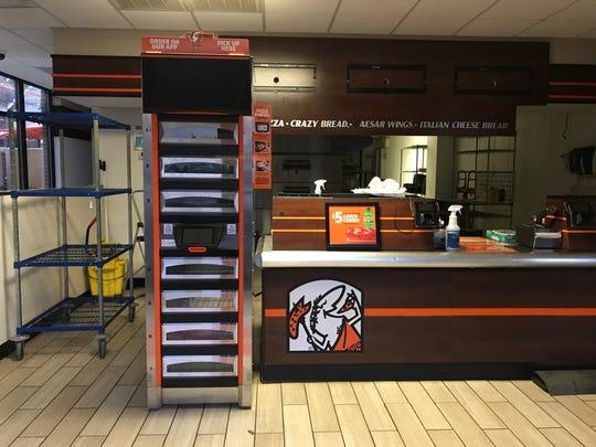 The Little Caesars in Clemson closed its doors on Dec. 15.