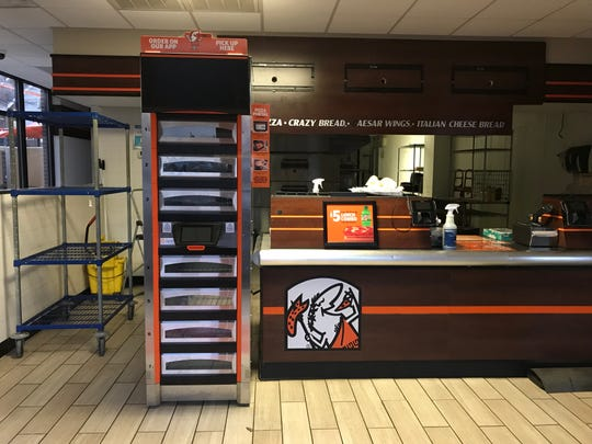 The Little Caesars in Clemson closed its doors on Dec. 15.