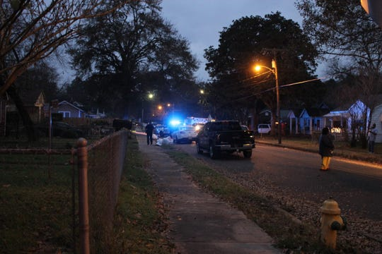The Alexandria Police Department was investigating two homicide scenes late on Christmas Day, including one on Madeline Street in which two people were shot. In all, three people died at the two scenes.