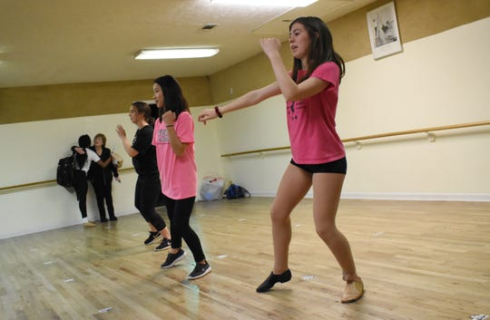 Caroline Drell, Anna Matherene and Elizabeth Cook are among the nine Vicki's Dance Studio dancers who will be performing as back up dancers at the TobyMac concert Jan. 29 at the Rapides Parish Coliseum.