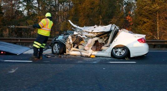 Fatal Parkway Crash