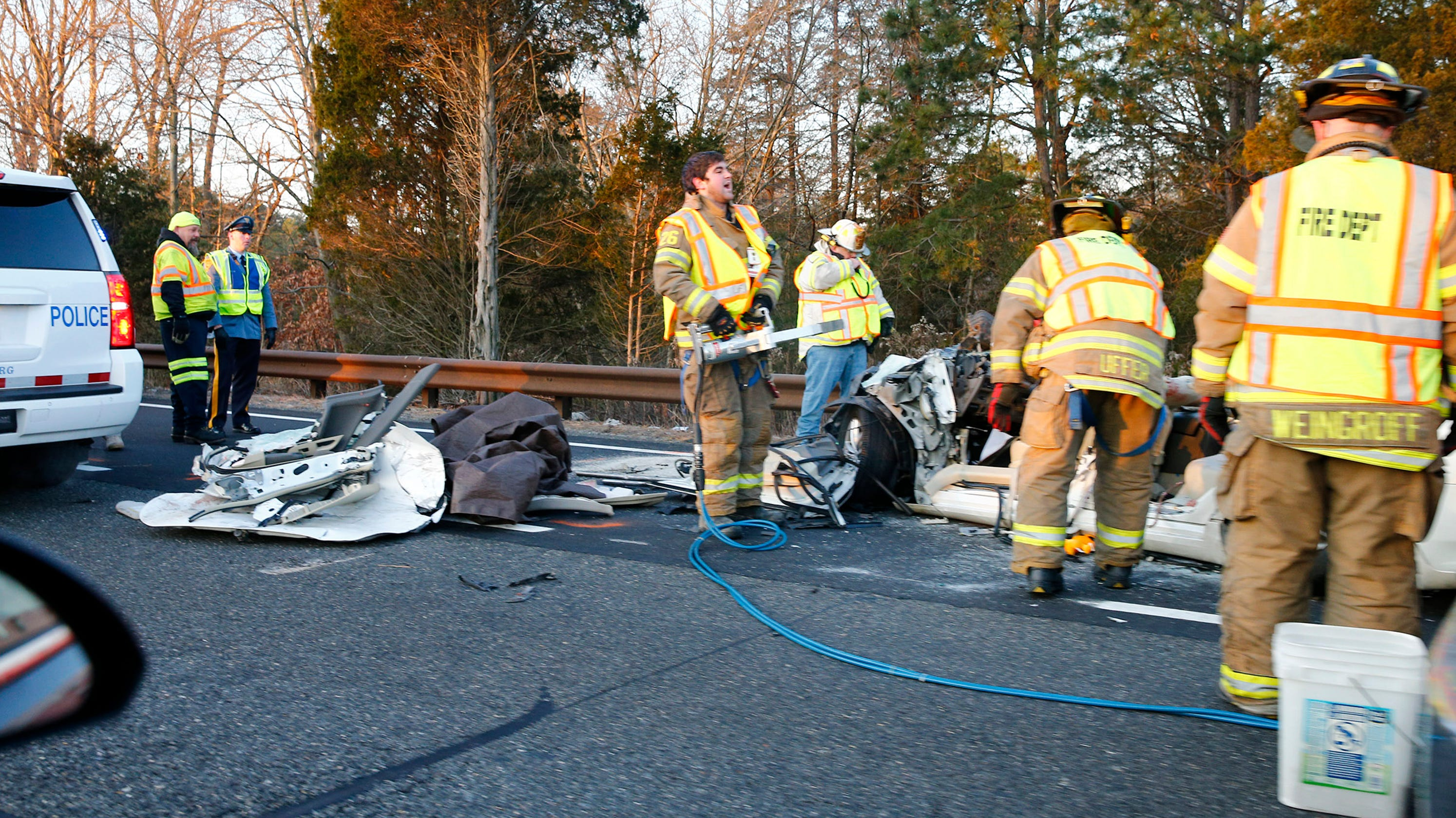 Four dead in fatal toms river accident on garden state parkway - Car accident garden state parkway ...