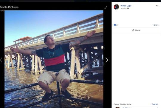 Photo of crash victim 24-year-old Victor Lugo