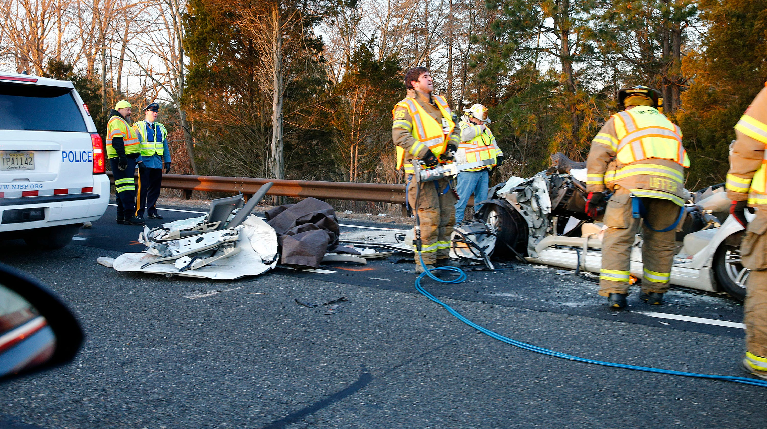 Toms river fatal garden state parkway crash - Accident on garden state parkway north today ...