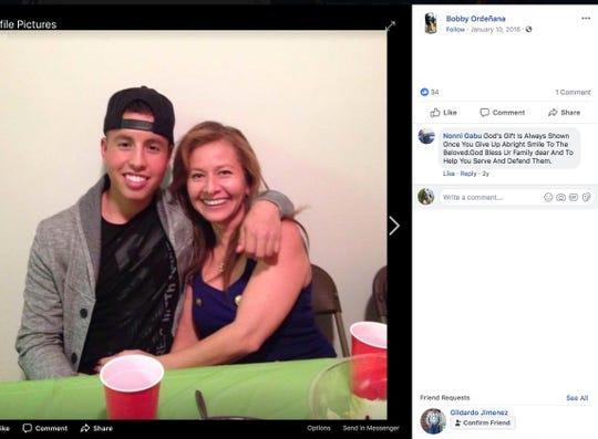 Photo of crash victim 23-year-old Robert Ordenana