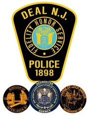 Emblem of the Deal Police Department