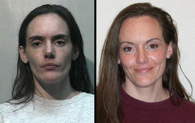 Trista Chisholm before and after prison