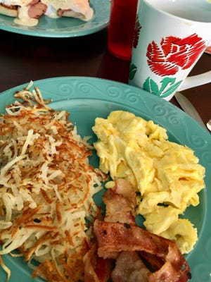 The Fed's Flying Fish Scramble at the Flying Fish on Merritt Island featured some of the best scrambled eggs in the area.