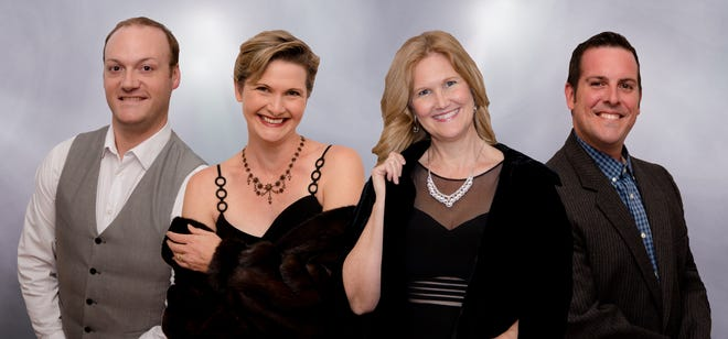 Professional singersAndrew LeJeune, Mary Anne Kruger, Amy Cofield and Shawn Jesseman will join the Space Coast Symphony Orchestra for two concerts of Broadway blockbusters on Saturday, Jan. 5, at the Scott Center.