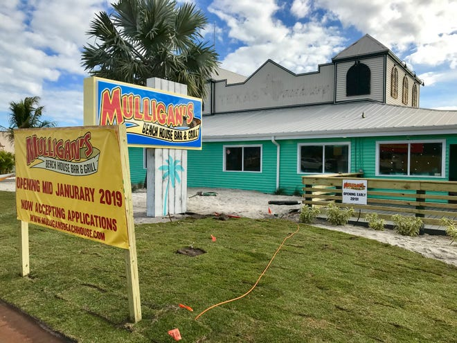 Mulligan's Beach House Bar & Grill is moving into the old Texas Roadhouse building on Eau Gallie Boulevard near Indian Harbour Beach.
