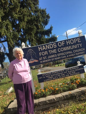 Jackie Goedesky, co-founder of the Hands of Hope Food Pantry in Edison.