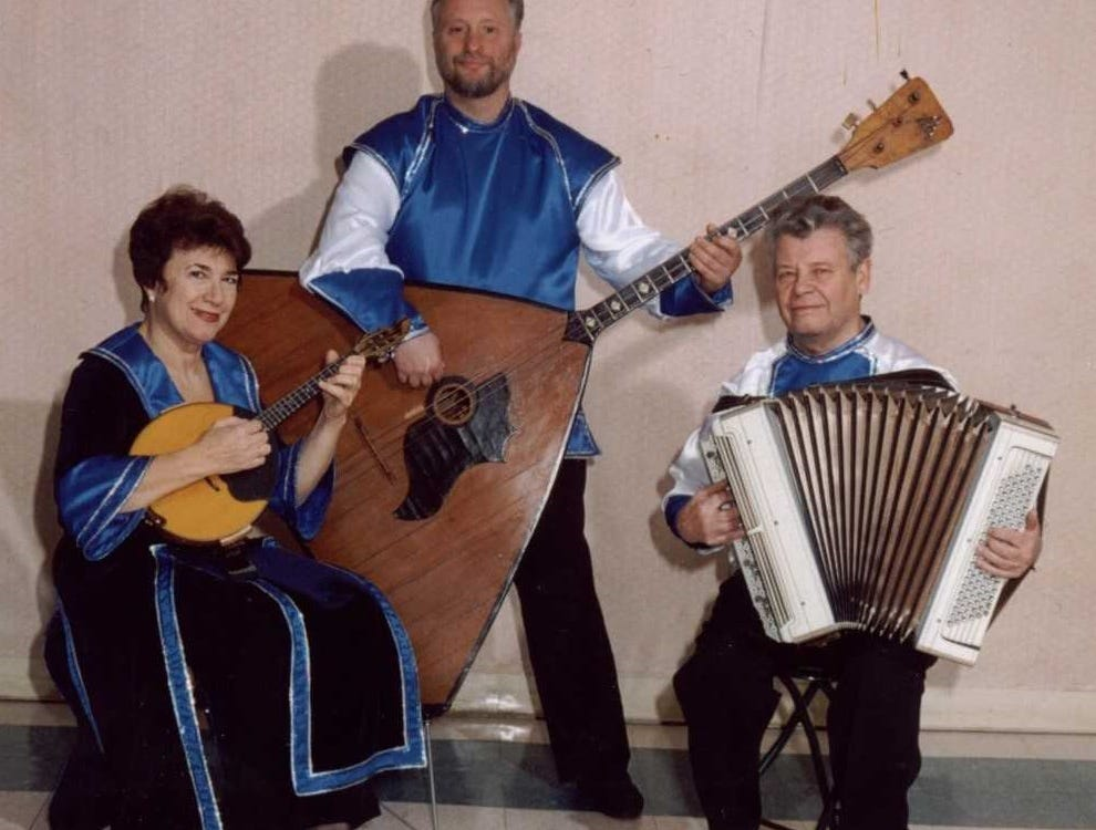 The Russian Trio will perform at 2 p.m. on Sunday, Jan. 13, at the Franklin Township Public Library in the Somerset section of Franklin Township.