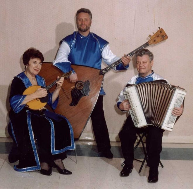 The Russian Trio will perform at 2 p.m. on Sunday, Jan.13, at the Franklin Township Public Library in the Somerset section of Franklin Township.