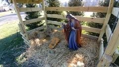 Police are investigating a Christmas Day theft of Baby Jesus and Mary from Saint Augustine Church of Canterbury Roman Catholic Church in the Kendall Park section of the township.