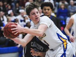 Carteret at Spotswood boys basketball on Wednesday, Dec. 19, 2018 at Spotswood.