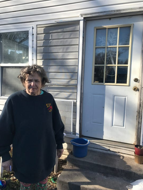 Des Moines resident Sherrill Fillman had her November ballot rejected after Iowa erroneously placed her on it its list of felons banned from voting.
