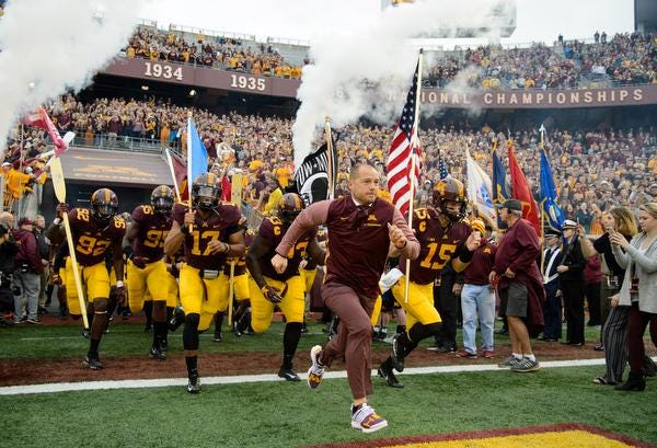 P.J. Fleck's Minnesota Golden Gophers won two of their last three games to become bowl-eligible.