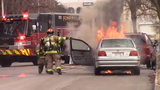 Fond du Lac Fire/Rescue called to car fire on Forest Avenue