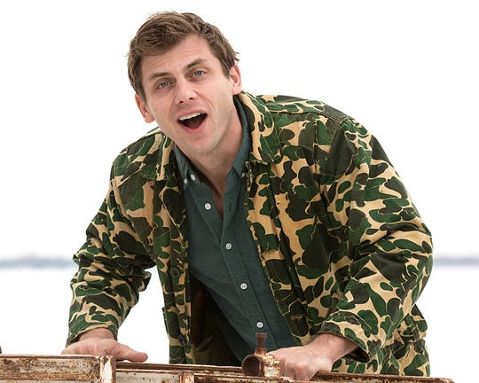 Commedian Charlie Berens of Los Angeles poses for photos Sunday January 7, 2018, while in Fond du Lac for a show at the Rec Center at the Fond du Lac County Fairgrounds. Berens is most notably known for his Manitowoc Minute sketches which appear on Facebook and YouTube. Doug Raflik/USA TODAY NETWORK-Wisconsin