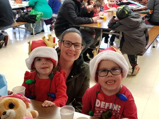 The Bestul family of North Fond du Lac,  which includes mom Chantalle, and children Nora and Isaac (dad David Bestul not pictured) lost everything in a Christmas morning fire that started in the apartment above them in a 12-unit complex. GoFundMe accounts have been set up for the Bestuls, and the Pittman family, who lived in the upper apartment and also lost everything in the blaze.
