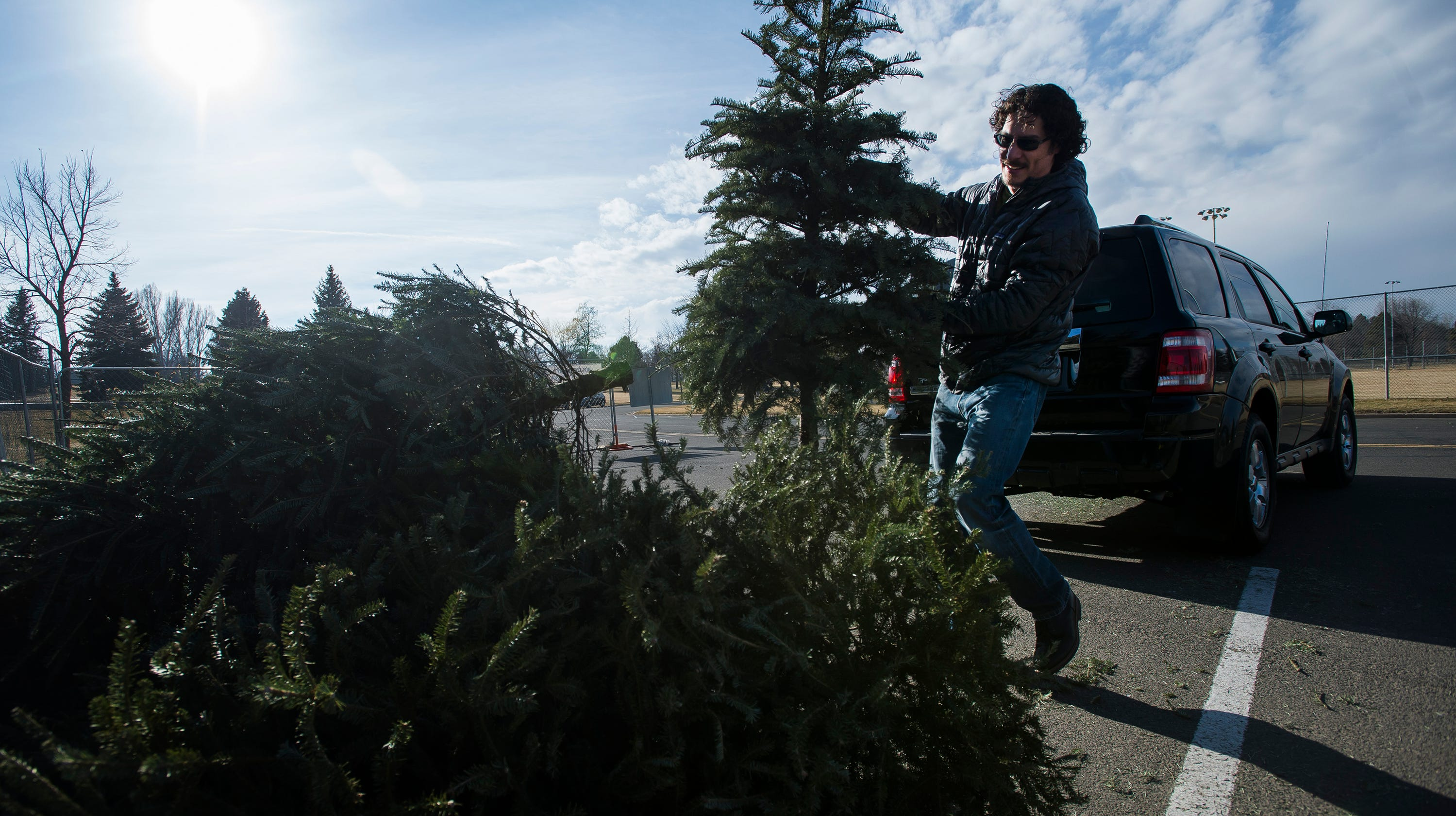 How to recycle Christmas trees and wrapping paper in Fort Collins
