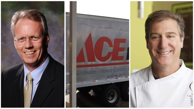 The Business of the Year finalists are WGCU, Norman Love and Sunshine Ace Hardware.