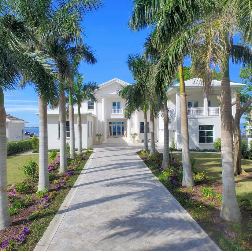Most expensive homes sold in Lee and Collier