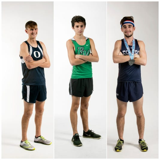 Boys Cross Country Collage