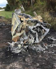 Four people are dead after a fiery head-on crash in Highland County.