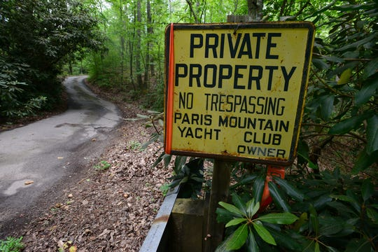 The Friends of Paris Mountain State Park purchased this 160-acre property for $1 million in 2015 and will deed it over to the park in early 2019, says the group's president, Stephen Gray. The Paris Mountain Yacht Club was dissolved in 1958, according to Greenville News archives.