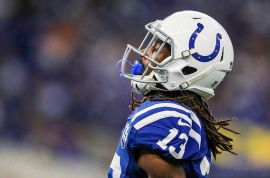 Colts wide receiver T.Y. Hilton says he's not missing Sunday's regular-season finale against Tennessee.