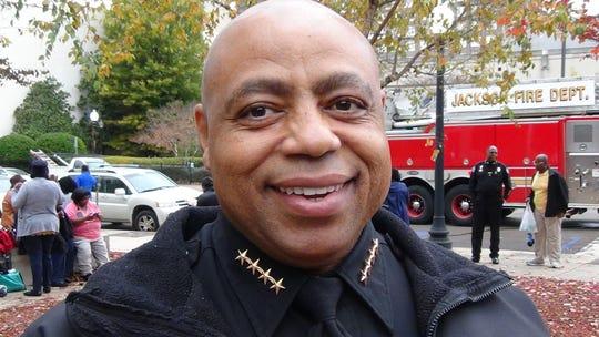 Jackson Police Chief James E. Davis