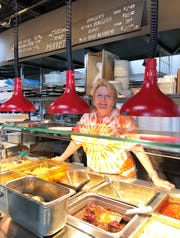 """Kelly Litton launched """"Littons to Go"""" in the Back Room of Litton's Market, Restaurant & Bakery, after thorough testing and preparations in May, 2018."""