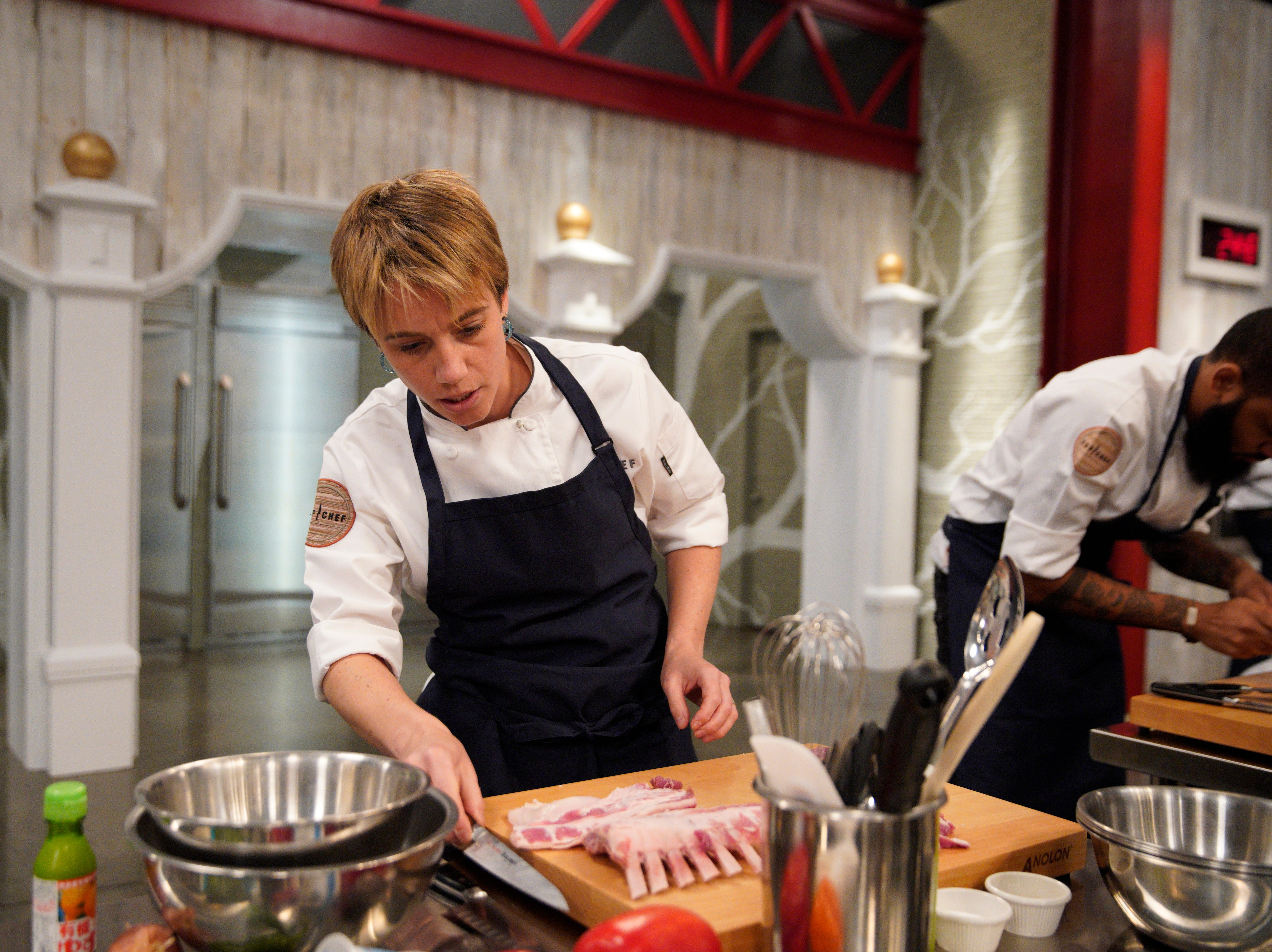 "Contestant Adrienne Wright on episode 4 of Bravo's ""Top Chef"" Kentucky."