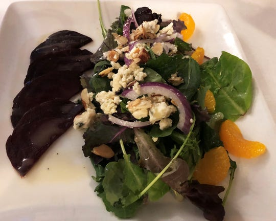 The roasted beets salad from Verdi's Bistro, Marco Island.