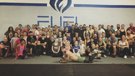 "In March 2017, Dan Newberry began teaching a free, weekly calisthenic class for all levels ""to get people to adopt fitness as a means of therapy."""