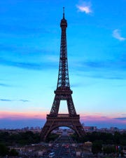 Patricia Harris of Waukesha took this photo of the Eiffel Tower at sunset in June 2018.