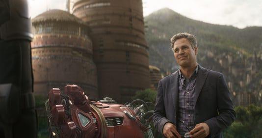 Avengers Infinity War - Ruffalo