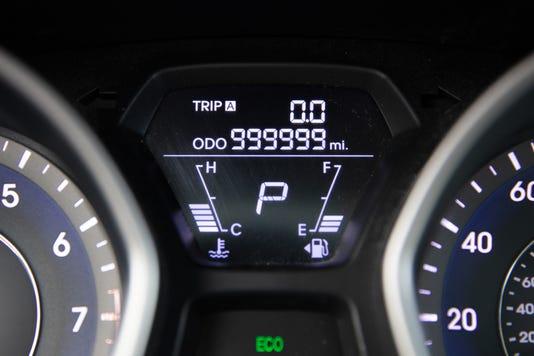Large 34966 999999elantraodometer