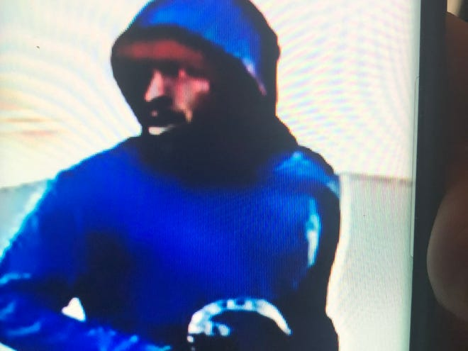 Muncie police on Wednesday released this image, of a man who robbed the manager of a westside business about 12:30 p.m. Monday.