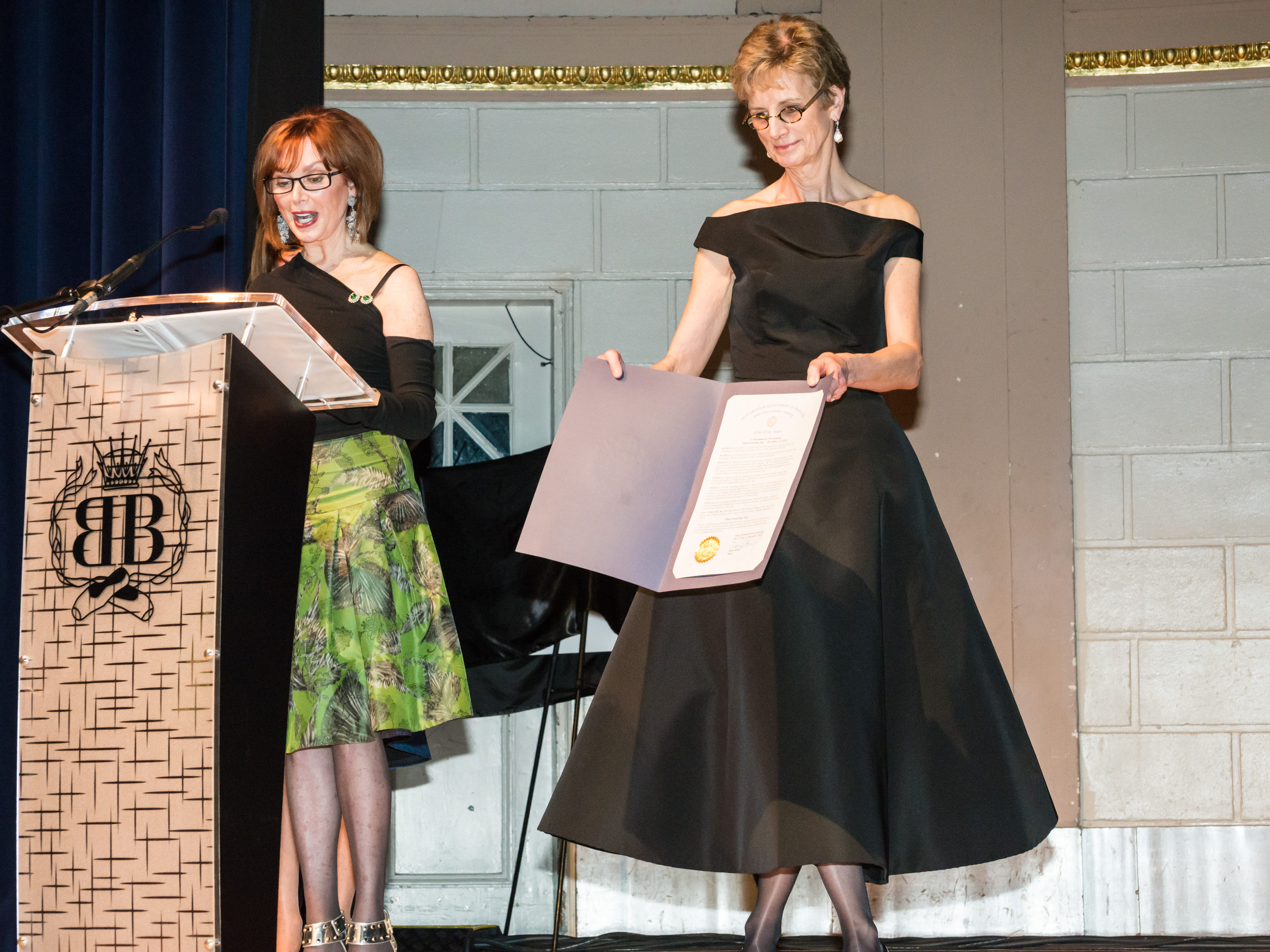 Susan Lipman and Heather Thorne