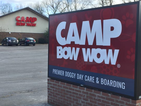 Camp Bow Wow recently opened on North Mt. Juliet Road. The business offers dog day care, grooming and boarding services.
