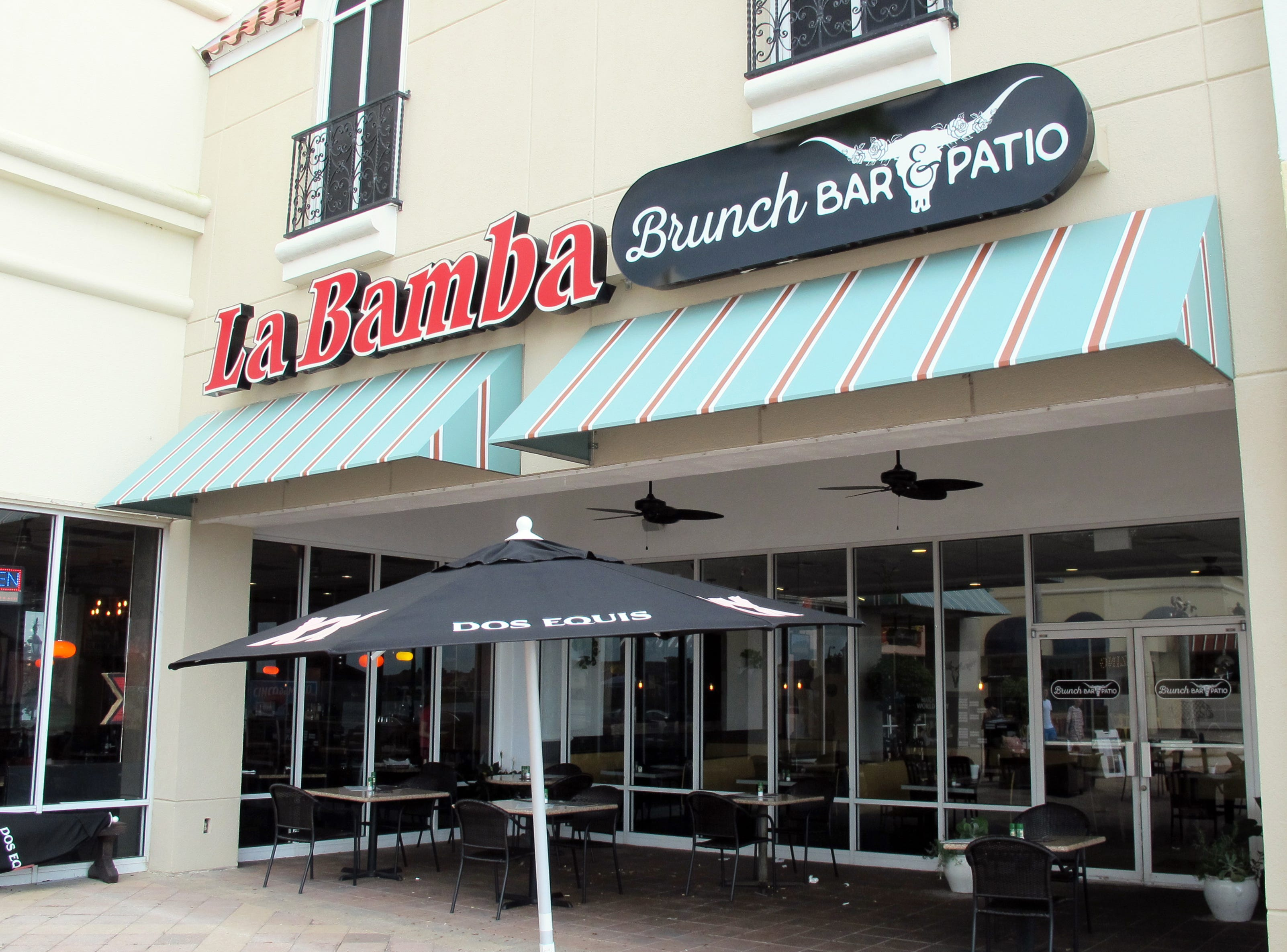 La Bamba Brunch Bar & Patio launched in February 2018 at Miromar Outlets in Estero adjacent to the longtime La Bamba Tequila Bar & Restaurant in the regional outlet mall's restaurant piazza.