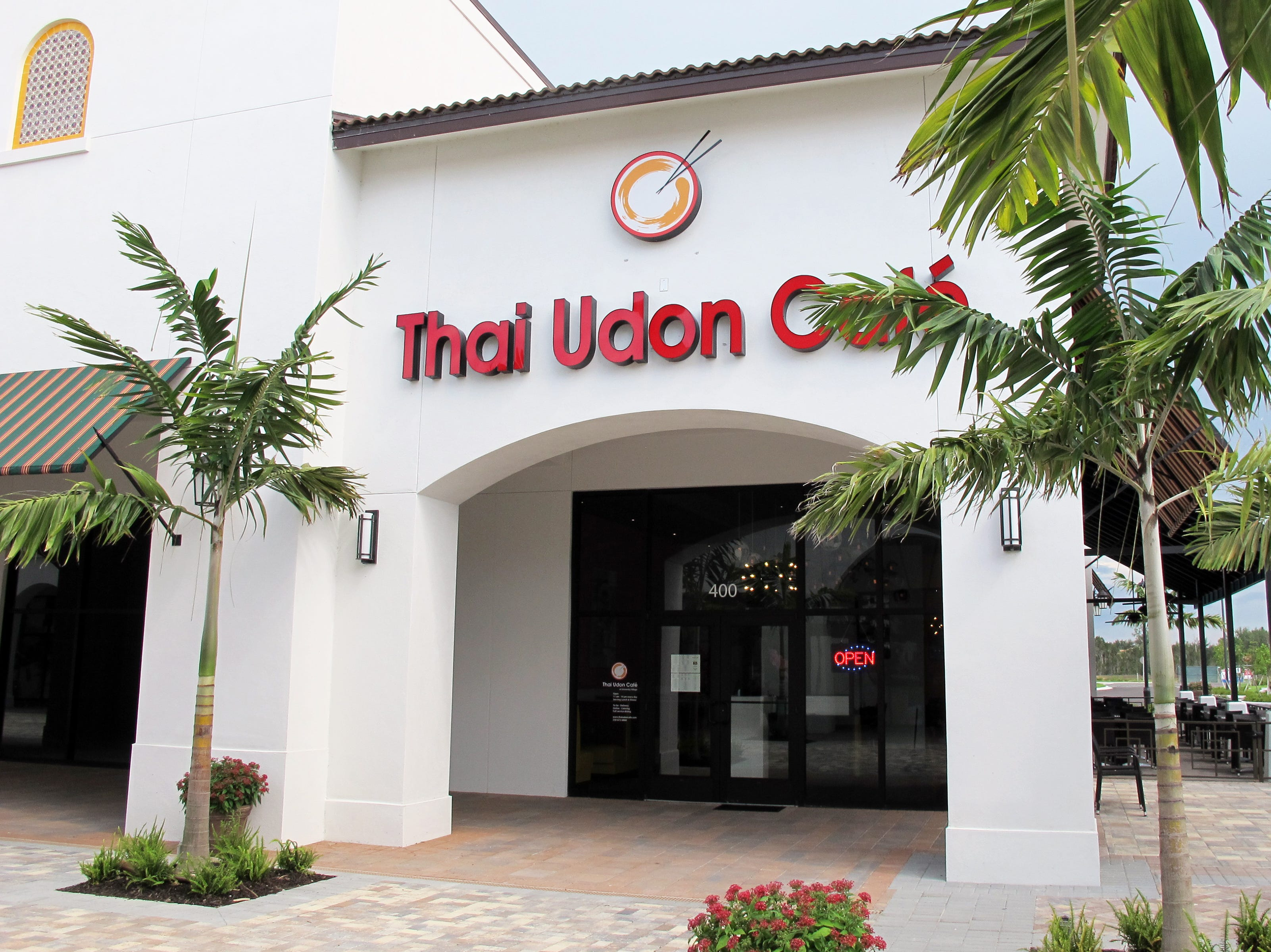 Thai Udon Cafe opened its third location in May 2018 iin the new University Village shops on Ben Hill Griffin Parkway near Florida Gulf Coast University.